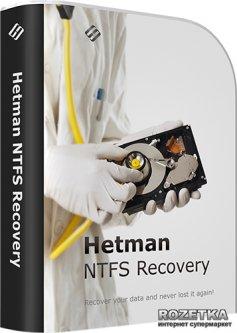 Hetman NTFS Recovery для восстановление NTFS раздела Коммерческая версия для 1 ПК на 1 год (UA-HNR2.3-CE)