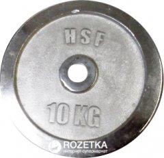 Диск хромированный HSF 10 кг (DBC 102-10)