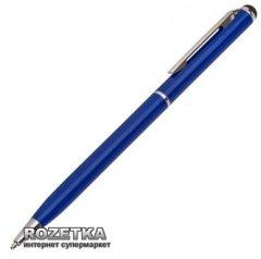Стилус Value с шариковой ручкой для емкостных экранов Синий (S0534)