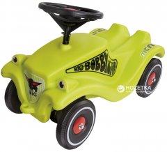 Автомобиль-каталка Big Гонщик Зеленыйс защитными насадками для обуви (56074)