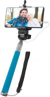 Монопод для селфи Defender Selfie Master SM-02 20-98 см Голубой (29404)