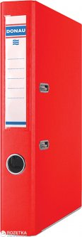Папка-регистратор Donau Master А4 2R 50 мм Красная (3947001-04)