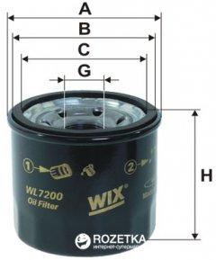 Фильтр масляный WIX Filters WL7200 - FN OP595