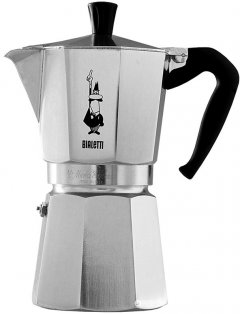Гейзерная кофеварка Bialetti Moka Express 270 мл (990001163)
