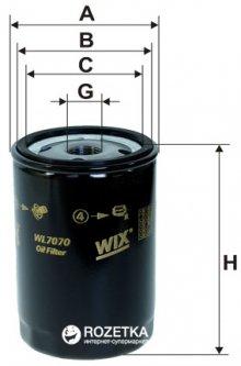 Фильтр масляный WIX Filters WL7070 - FN OP526