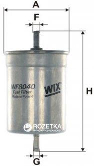 Фильтр топливный WIX Filters WF8040 - FN PP836