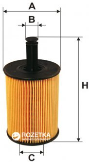 Фильтрующий элемент масляного фильтра WIX Filters WL7296 - FN OE650/1