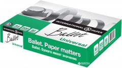 Бумага офисная Ballet Universal А4 80г/м2 500 листов Белая (9003974413907)
