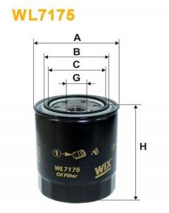 Фильтр масляный WIX WL7175 - FN OP619/1