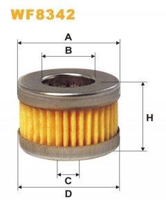 Фильтр топливный WIX WF8342 - FN PM999/2