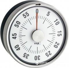 Кухонный таймер TFA Puck 38.1028.10 Антрацит/нержавеющая сталь (38102810)