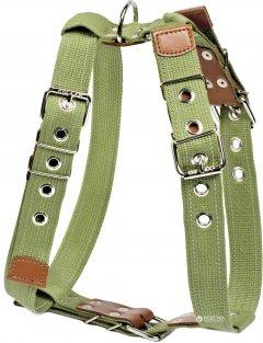 Шлея Collar для крупных собак N1 62-86 см Зеленая (0645)