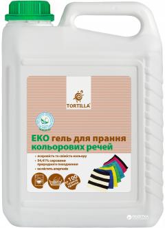 Эко гель Tortilla для стирки цветных вещей 5 л (4820178060226)