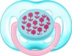 Пустышка Philips AVENT для девочек 6-18 мес (SCF172/15)