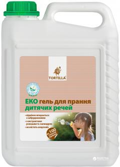 Эко гель Tortilla для стирки детских вещей 5 л (4820178060721)