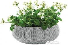 Горшок для растений Keter Cozies L Серый (7290106929623)
