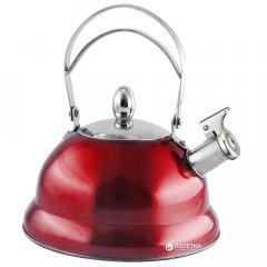 Чайник Lora NS11KET со свистком 3 л Красный (H11-005)