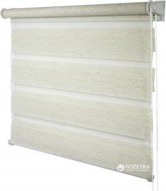 Ролета Деко-Сити мини День/Ночь, 52x170 см, ткань синтетическая, Лен (39400052)