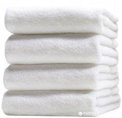 Махровое отельное полотенце Lotus Basic 70x140 Белое (svk-2608)