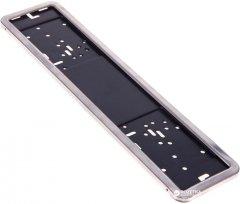 Рамка номера Vitol РН-50050 нержавеющая сталь