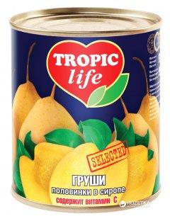 Груши половинками в сиропе Tropic Life 850 мл (4820086921114 / 5060162900452)