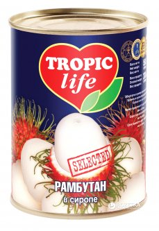 Рамбутан в сиропе Tropic Life 580 мл (4820086921862 / 5060162901107)