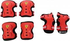 Защита Ferrari FAP3 3 в 1 размер S Красная (6947045655274)