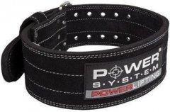 Пояс кожаный для тяжелой атлетики Power System Power Lifting PS-3800 XL Black (PS-3800_XL_Black_Black)