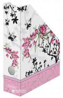 Вертикальный лоток Herlitz Ladylike Bloom Бело-розовый (11225133)