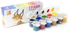 Краски гуашевые Луч Зоо Мини 12 цветов 15 мл в картонной упаковке (20С1356-08) (4601185008988)
