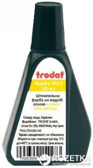 Штемпельная краска на водной основе Trodat 7012 28 мл Желтая