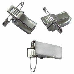 Набор клипов для бейджей Agent B-03C самоклеющиеся 100 шт (6917201112026)