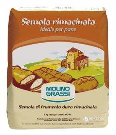 Мука из твердых сортов пшеницы Molino Grassi Semola Rimacinata Per Pane 1 кг (8013971006119)