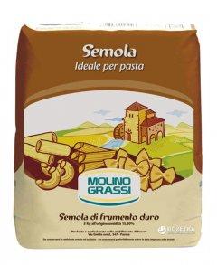 Мука из твердых сортов пшеницы Molino Grassi Semola Per Pasta 1 кг (8013971006126)