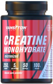 Креатин Vansiton моногидрат 250 г (4820106590504)