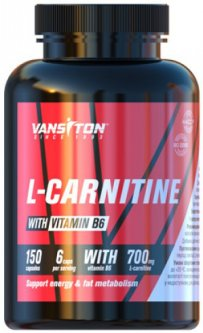 Жиросжигатель Vansiton Карнитин 150 капсул (4820106590108)