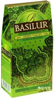 Чай зеленый рассыпной Basilur Восточная коллекция Зеленая долина 100 г (4792252923621)