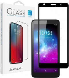 Защитное стекло ACCLAB Full Glue для ZTE Blade L8 Black (1283126508899)
