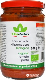Томатная паста Bioitalia 300 г (8024046338011)