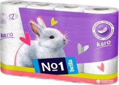Туалетная бумага Bella Karo 2 слоя 12 рулонов (5900516460679)