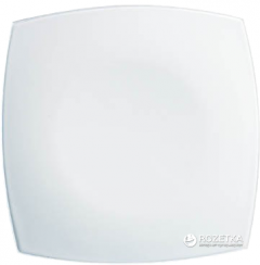 Тарелка десертная Luminarc Quadrato квадратная 19 х 19 см White (H3658)