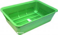 Туалет для кошек Topsi 7009 39х28х12 см Зеленый (4820122203198)