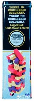 Игра настольная в жестяной коробке Spin Master Games Дженга с цветными брусочками (SM98365/6033150)