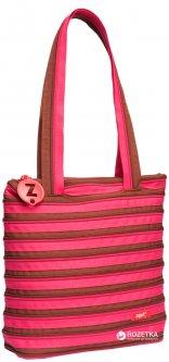 Женская сумка Zipit Premium Tote/Beach Fuchsia & Deep Brown (ZBN-1/7290103192198)