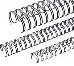 Металлические пружины bindMARK 6.4 мм 100 шт Черные (20000472120)