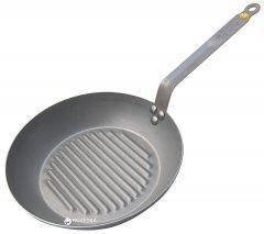 Сковорода-гриль De Buyer Carbone Plus 26 см (5530.26)