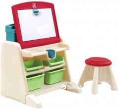 Детский стол со стулом и доской для творчества Step 2 Flip&Doodle (733538836598)