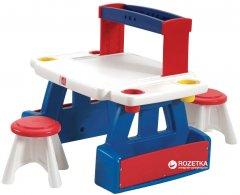 Детский стол с 2 стульями для творчества Step 2 Creative Projects Двусторонний (733538829996)