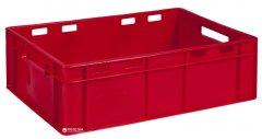 Ящик пластиковый универсальный Полимерцентр 600х400х190 мм Красный (ST6419-1)