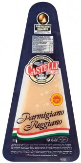 Сыр твердый Castelli Пармезан 32% 125 г (8001868010271)